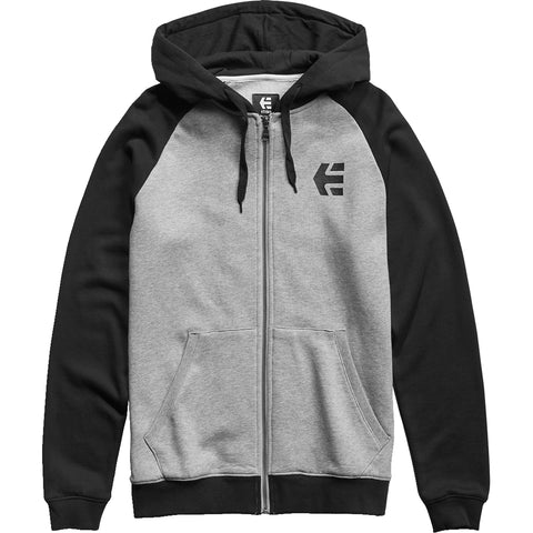 Etnies E-Corp Men's Hoody Zip Sweatshirts - Grey/Heather