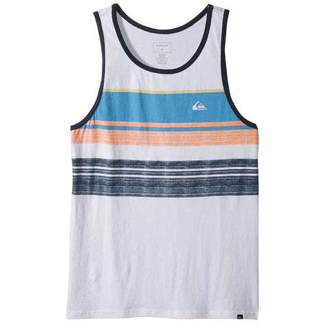 Quiksilver Swell Vision Men's Tank Shirts - White
