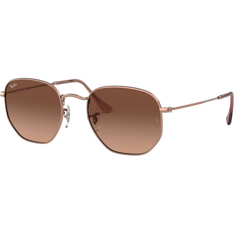 Ray-Ban Hexagonal Flat Lenses Adult Aviator Sunglasses New - Missing Tags-0RB3548N