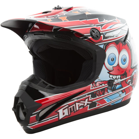GMAX GM46.2 Superstar Youth Off-Road Helmets Brand New-72-6692-1
