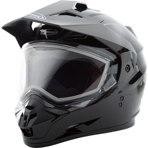 GMAX GM-11S Solid Dual Sheild Adult Snow Helmets New - Missing Tags-72-7120-2