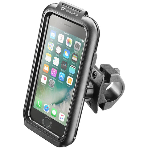 Interphone Tubular Handlebar Pro Case Motorcycle Communication System-5520