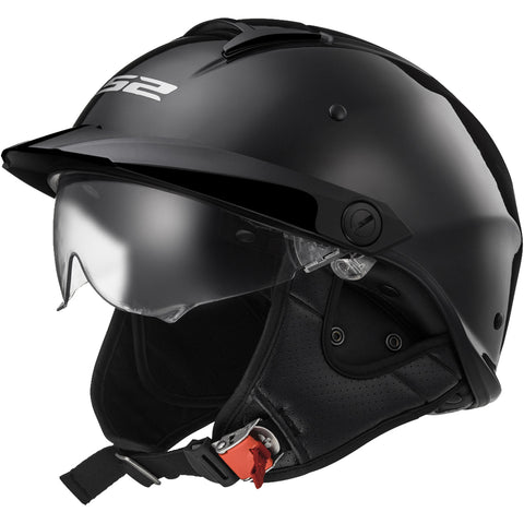 LS2 Rebellion Solid Adult Cruiser Helmets-590