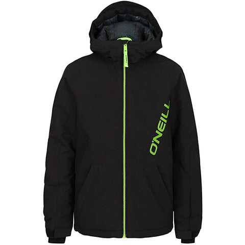 O'Neill Flux Youth Boys Snow Jackets - Black Out