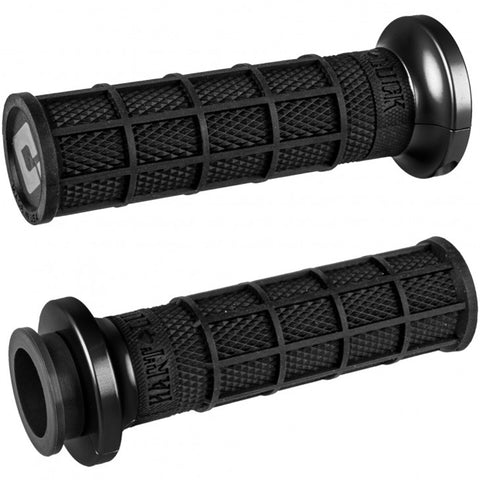 ODI V-Twin Lock-On Hart-Luck Signature Full Waffle Off-Road Hand Grips-206