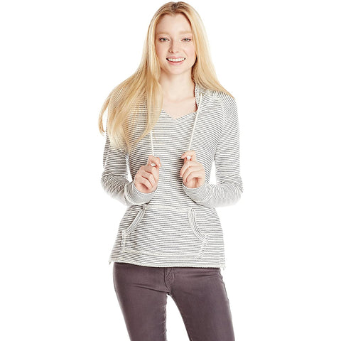 O'Neill Sands Striped Women's Hoody Pullover Sweatshirts - Winter White