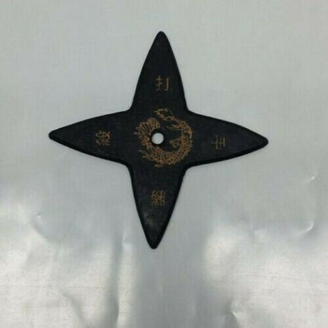 "4"" in. Ninja Soft Foam Rubber Star Black"