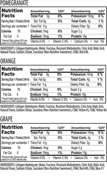 Sip15™ Liquid Protein Drink: Orange 12-Pack