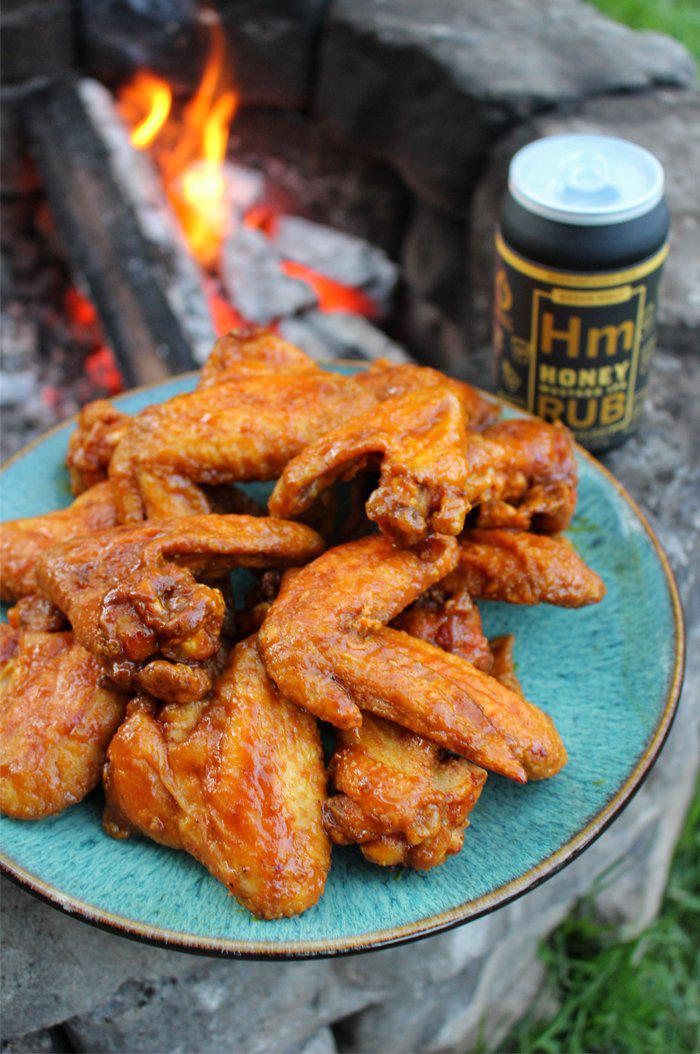 Honey Mustard IPA Fried Chicken Wings