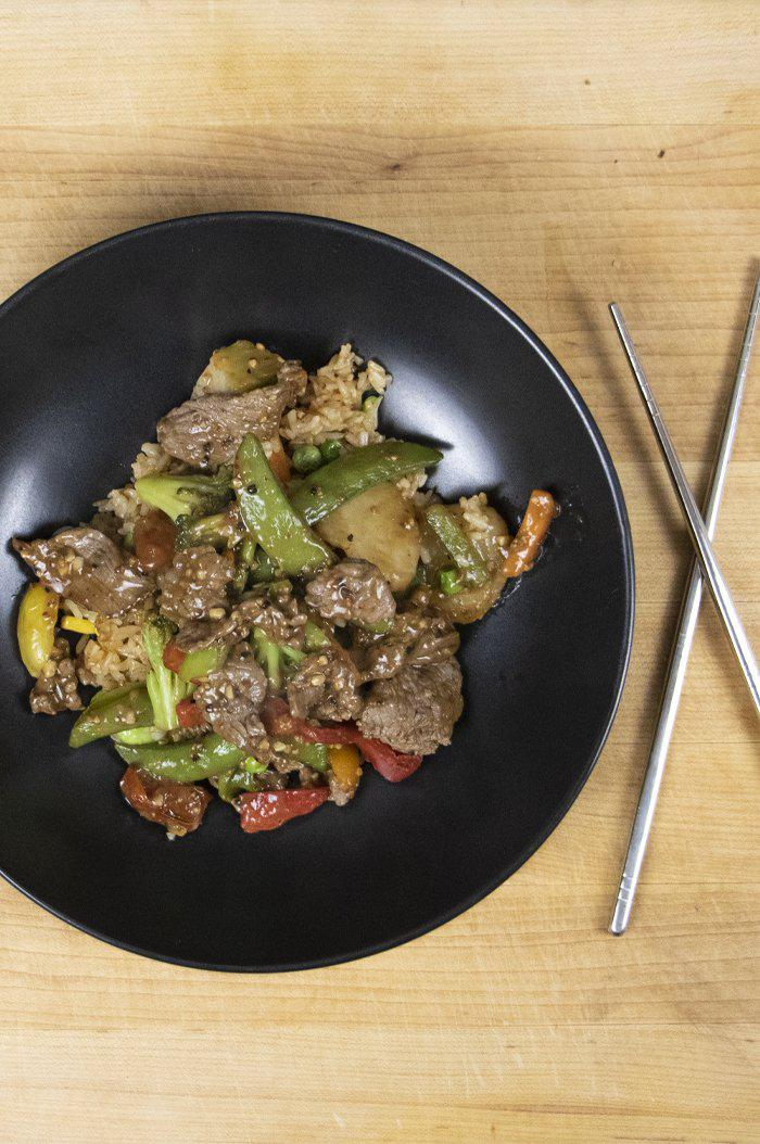 Steak and Bake Stir Fry