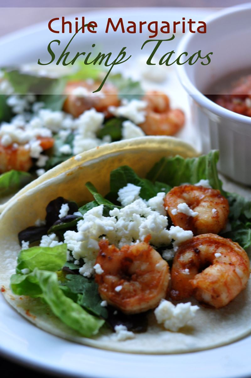 Chile Margarita Shrimp Tacos Recipe