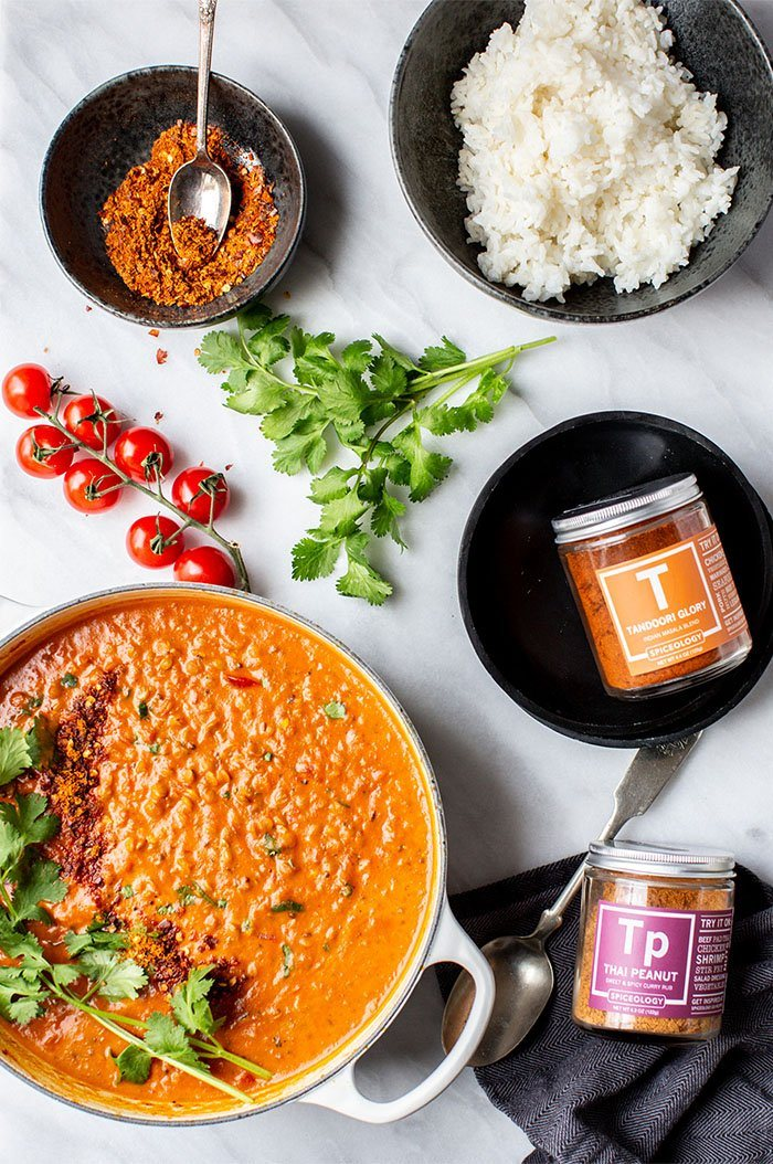 Coconut Lentil Curry