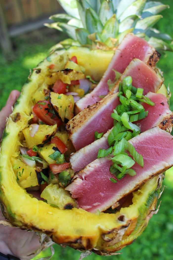 Maui Wowee Ahi Tuna Pineapple Bowl