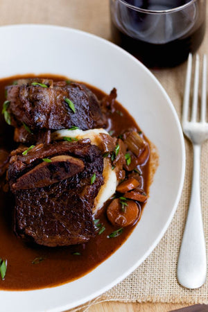 Raspberry Chipotle Braised Short Ribs