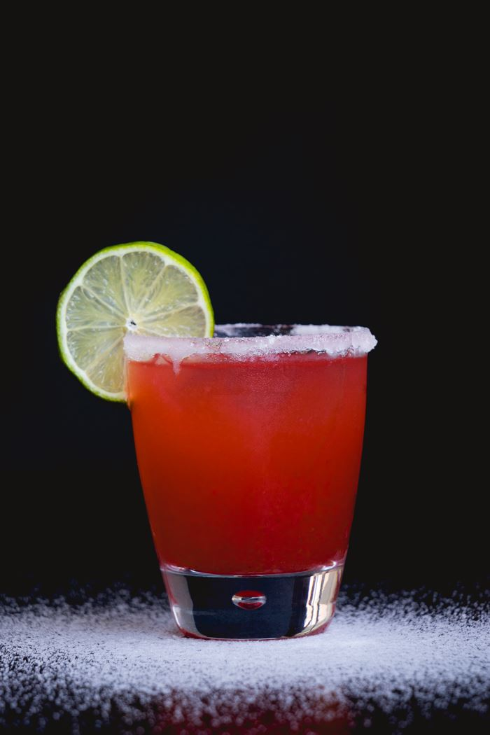 Raspberry Chipotle Margarita