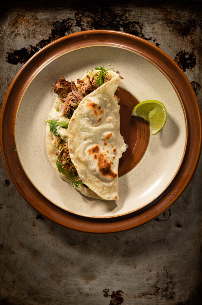 Adobo Honey Pork Tacos