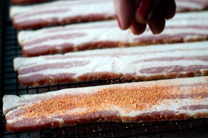 Bacon Seasoned with Smoky Honey Habanero Rub | Spiceology