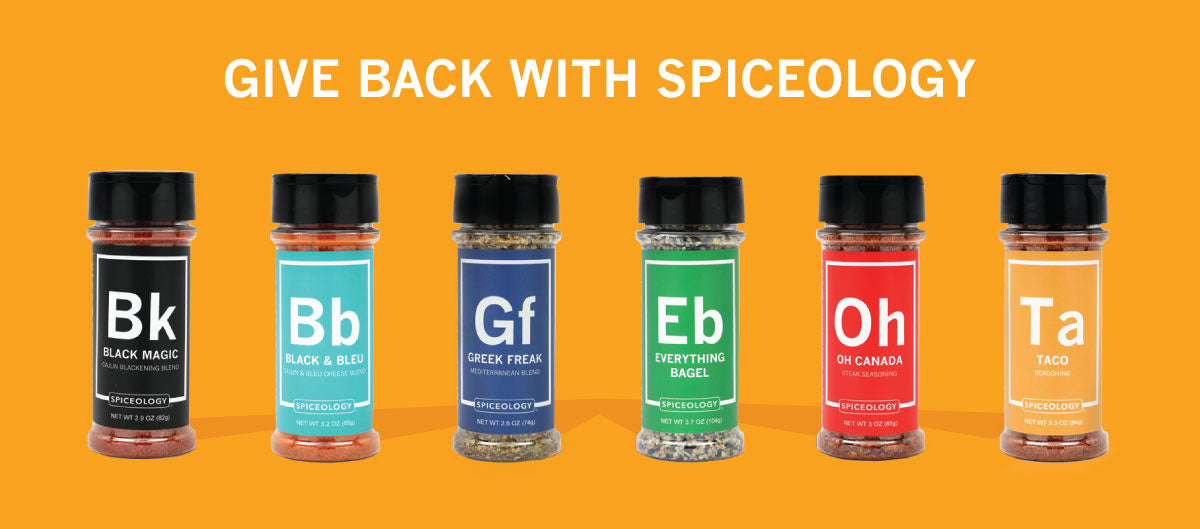 Give Back with Spiceology | Fundraiser Program