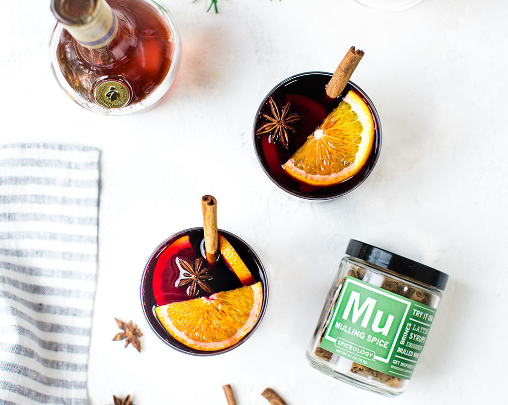 Spiceology Mulled Wine Recipe | Holiday Drink Recipes