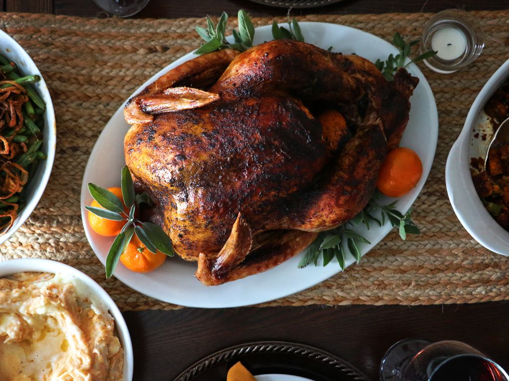 Spiceology Espresso Chile Crusted Turkey Recipe