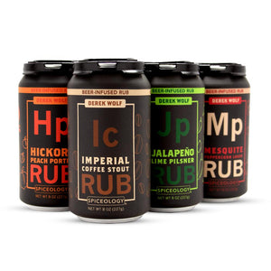 Derek Wolf | 6 Pack Beer Rub Sampler