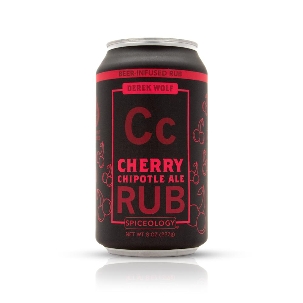 Derek Wolf | Cherry Chipotle Ale Rub