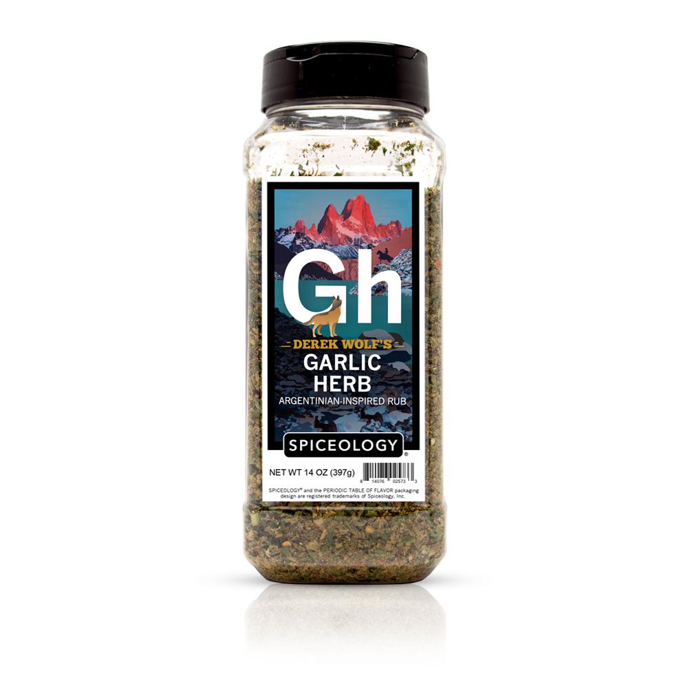 Derek Wolf | Garlic Herb Rub