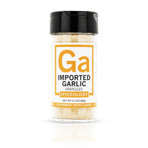 Garlic Granules, Imported  | Glass Jar
