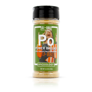 DJ BBQ | Power Ballad | Spicy Green Chile Seasoning