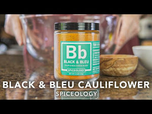 Black & Bleu Rub | Glass Jar
