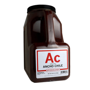 Ancho Chile, Ground CHILES Spiceology PC5 / 96 oz