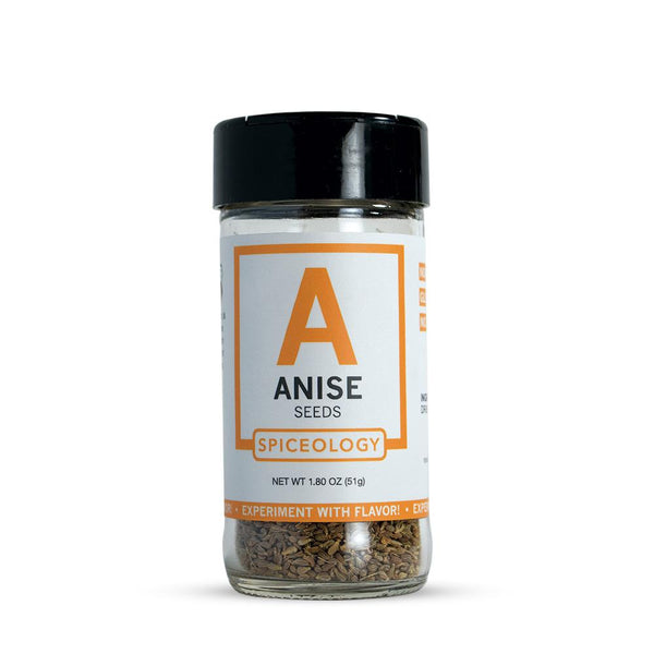 Anise Seed | Glass Jar A-Z Spiceology 1.80 OZ