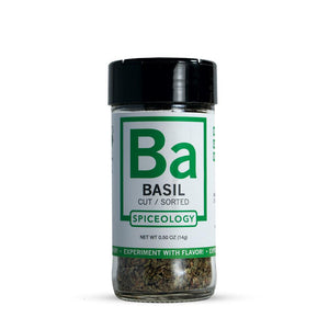 Basil | Glass Jar A-Z Spiceology 0.50 OZ