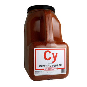 Cayenne Pepper, Ground CHILES Spiceology PC5 80 oz