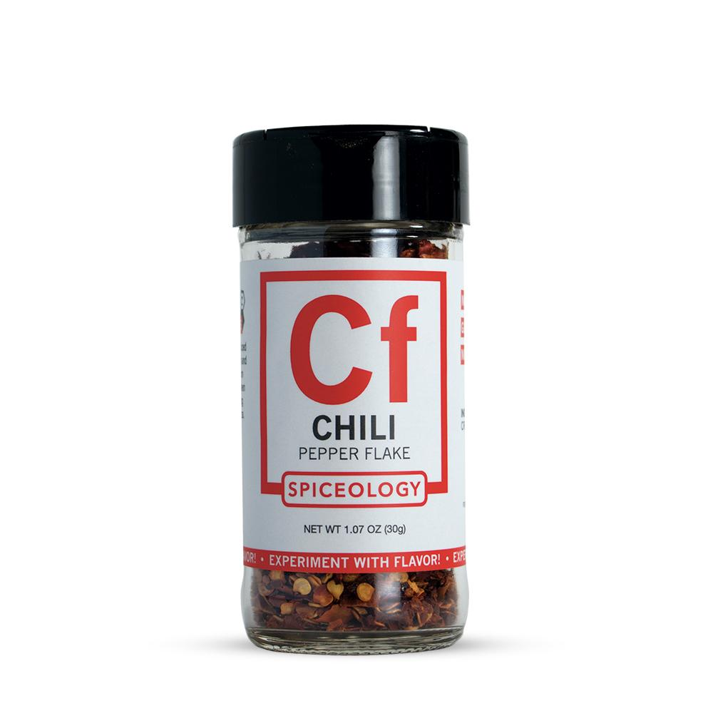 Chili Flakes | Glass Jar A-Z Spiceology 1.07 OZ