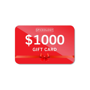 Gift Card Gift Card Spiceology $1000