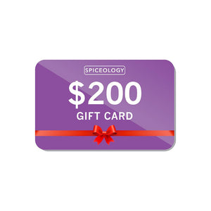 Gift Card Gift Card Spiceology $200
