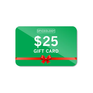 Gift Card Gift Card Spiceology 25.0