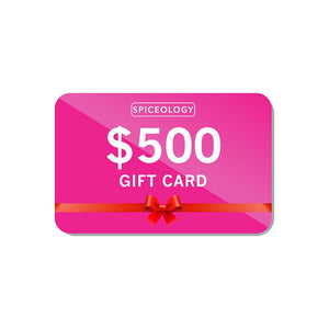 Gift Card Gift Card Spiceology $500