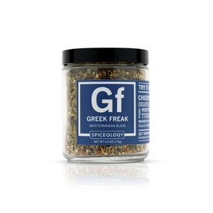 Greek Freak™ Mediterranean Rub | Glass Jar GLASS JARS Spiceology 4.0 OZ