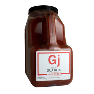 Guajillo Chile, Ground CHILES Spiceology PC5 / 96 oz