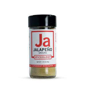 Jalapeno Powder | Glass Jar A-Z Spiceology 1.70 OZ