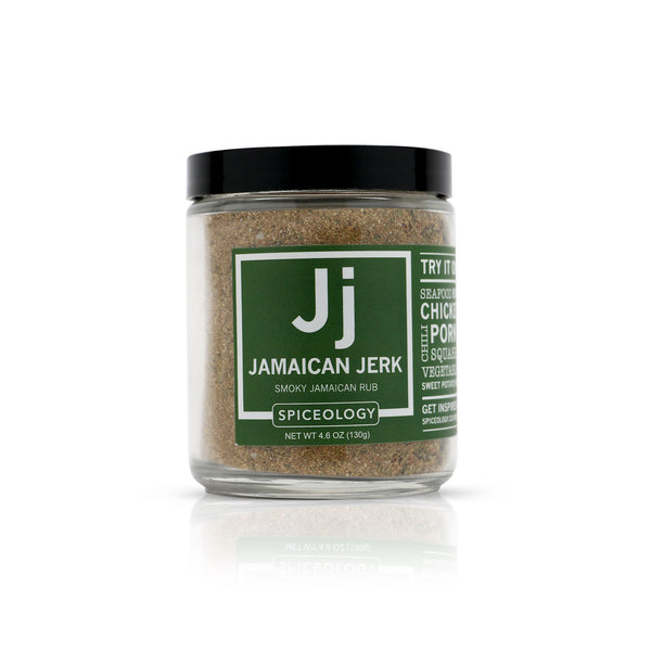Jamaican Jerk™ Jamaican Jerk Rub | Glass Jar GLASS JARS Spiceology 4.6 OZ