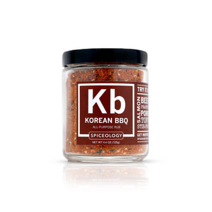 Korean BBQ | Glass Jar GLASS JARS Spiceology 4.4 OZ