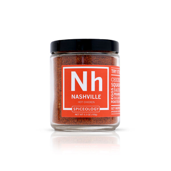 Nashville Hot Chicken | Glass Jar GLASS JARS Spiceology 5.3 OZ
