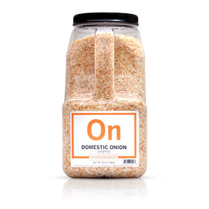 Onion, Chopped (Domestic) SPICES Spiceology PC5 / 56 oz