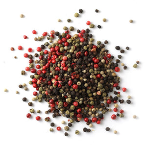 Peppercorns, 4-Mix | Glass Jar A-Z Spiceology