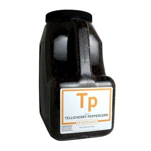 Peppercorns, Tellicherry SPICES Spiceology PC5 / 96 oz