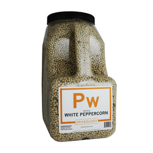 Peppercorns, White SPICES Spiceology PC5 / 80 oz