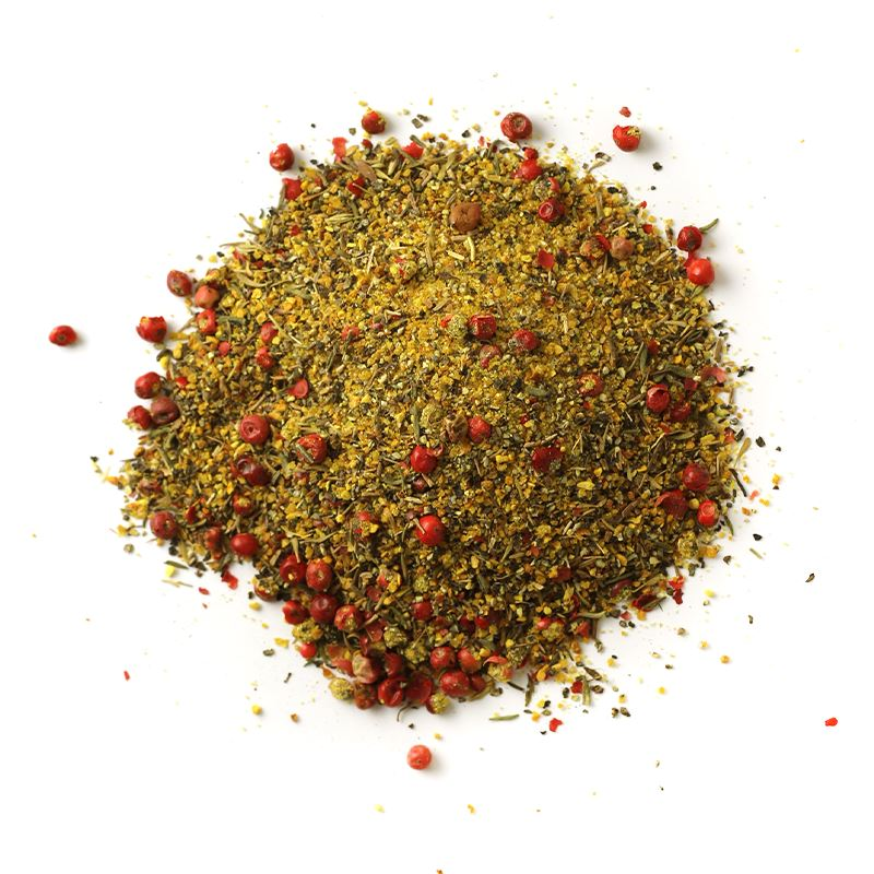 Pink Peppercorn Lemon Thyme™ All-Purpose Rub | Glass Jar GLASS JARS Spiceology 5.4 OZ